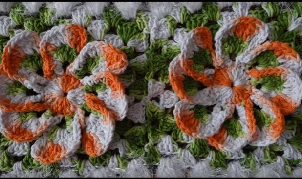 Tapete de Crochê Euro Flor artesanal – Material e Vídeo