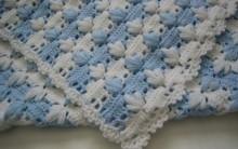 Como Fazer Manta para Bebê de Crochê – Ponto Maravilhoso – Vídeo