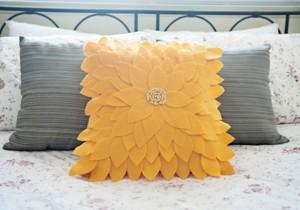 capa- almofada- girassol