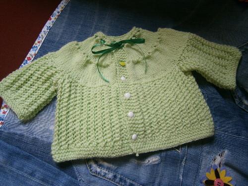 Casaquinho- tricô