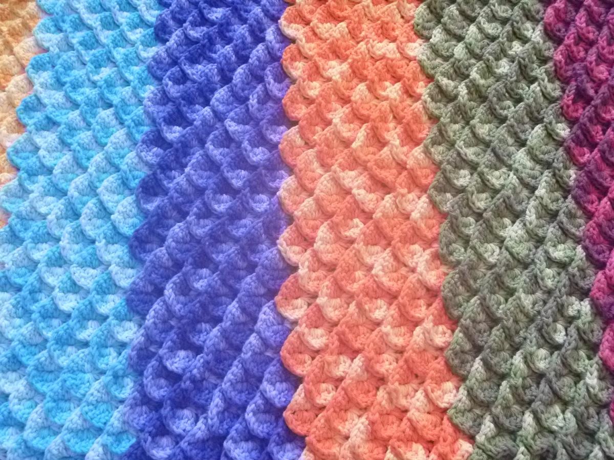 Tapete de Crochê Ponto Crocodilo – Material Passo a Passo