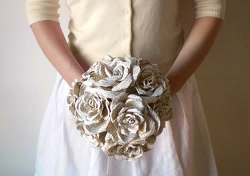 Buquê de Flores Feito de Papel – Como Fazer
