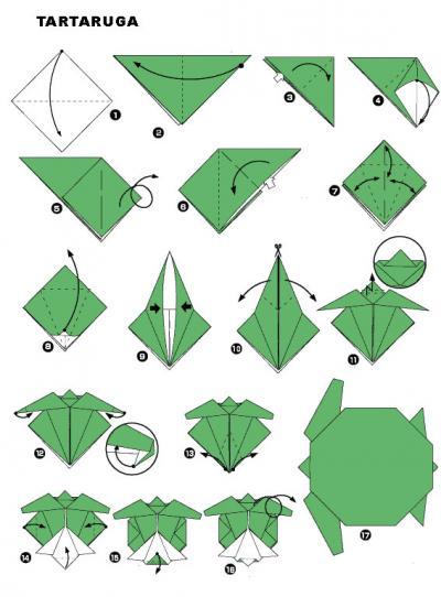 origami-tartaruga