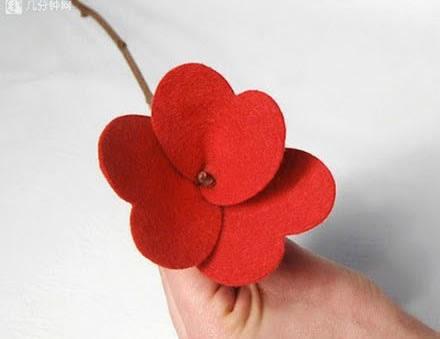 arranjo-flores-feltro-passo-4