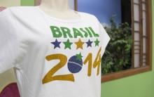 Customizar Camisetas Com Termocolante Glitter Para Copa 2014 – Dicas, Material,  Passo a Passo