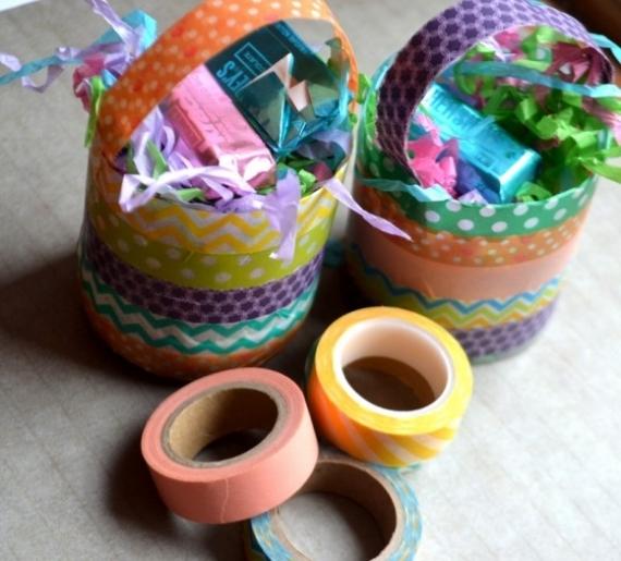 Lembrancinhas de Páscoa com Washi Tapes – Como Fazer