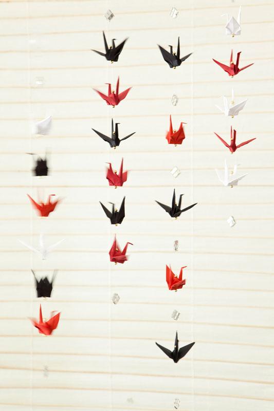 Mobile Feito Com Pássaros de Origami – Material e Passo a Passo