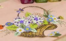 Pintura em Tecido Com Detalhes Feito em Patch Aplique – Passo a Passo