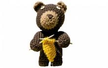 Como Fazer Urso Marrom de Crochê – Material e Passo a Passo