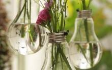 Como Fazer Arranjo de Flores Com Lâmpadas Velhas – Passo a Passo e Dicas