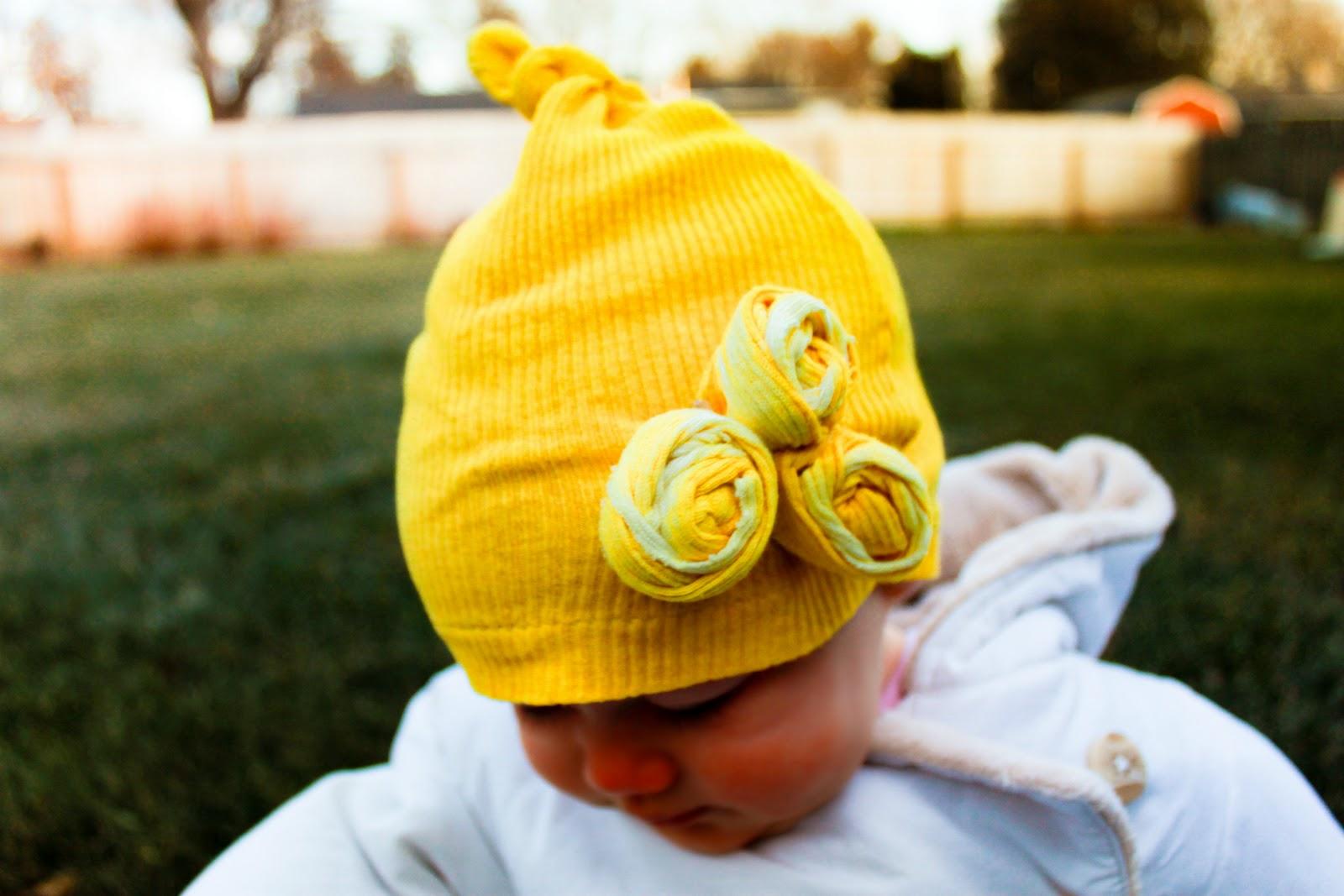 gorro-para-bebes-amarelo