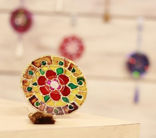 Mandala Feita Com CD – Como Fazer e Material Utilizado