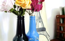 Vasos Decorativo de Garrafa – Como Fazer