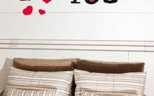 Adesivo de Parede Para Dia dos Namorados – Como Fazer