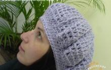 Boina de Inverno em Crochê – Como Fazer