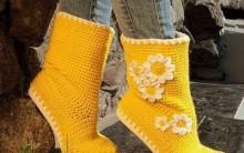 Botas de Crochê Para Adulto – Fotos, Materiais e Como Fazer
