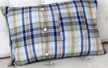 Capa de Travesseiro Feita de Camisa – Passo a Passo