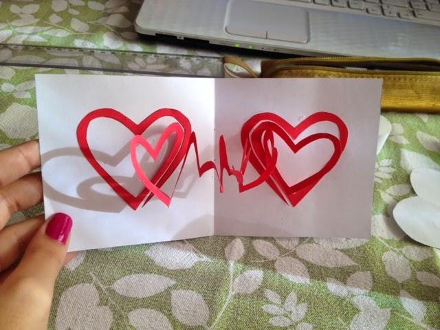 Cartão Criativo Fácil Para Namorados – Como Fazer Passo a Passo