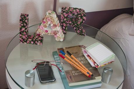 Letras Decoradas de Papelão – Como Fazer