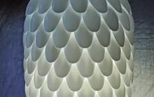 Luminária de Teto Feita Com Materiais Reciclados – Como Fazer