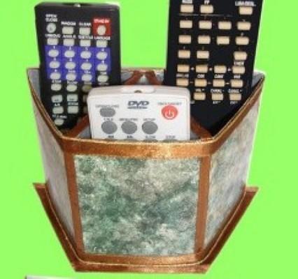 Porta Controle Remoto Usando Caixa de Leite – Como Fazer
