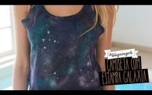 Blusa Customizada Estampa Galaxy – Como Fazer