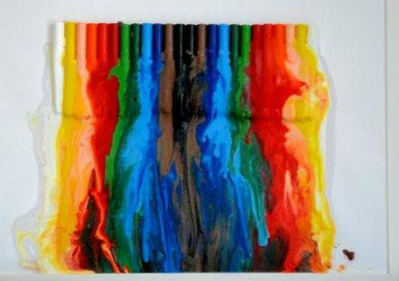 Quadro Decorativo de Giz de Cera – Como Fazer