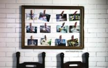 Mural de Fotos Com Moldura – Como Fazer