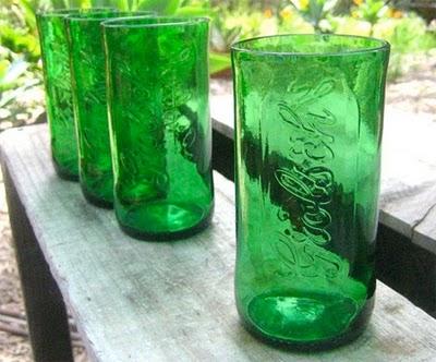 Como cortar garrafas para fazer copo