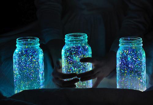 Glow Jar: Luminárias Coloridas – Como Fazer