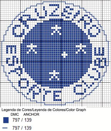 gráfico-ponto-cruz-cruzeiro