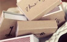 Lembrancinha Usando Caixa de Fósforos – Ideias e Como Fazer