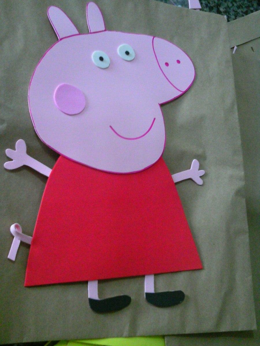 Peppa Pig Feita em EVA – Vídeo, Molde e Material