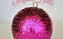 Bolas de Natal de Lantejoulas – Materiais e Como Fazer