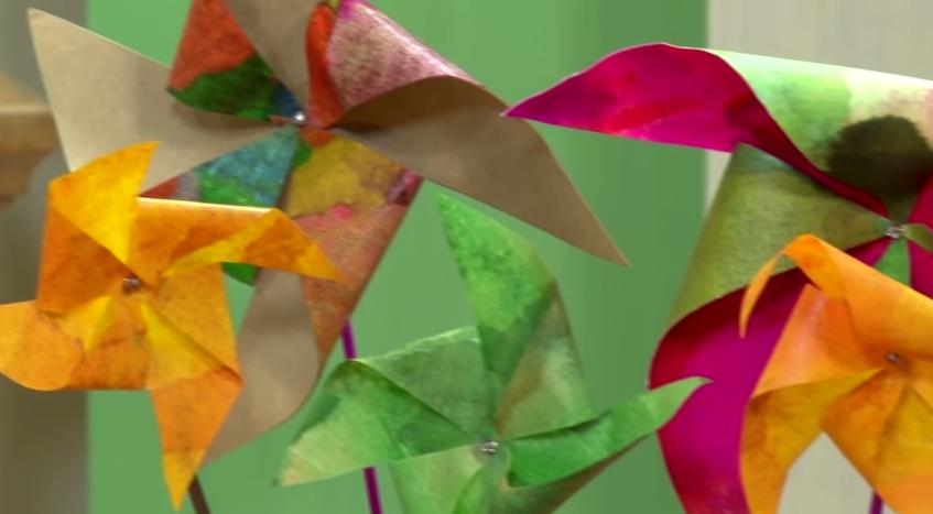 Cata-Vento com Filtro de Café – Materiais e Vídeo