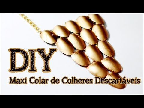 Maxi Colar de Colher Descartável – Material e Vídeo