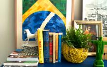 Quadro Mosaico Bandeira do Brasil – Como Fazer