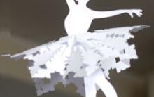 Bailarina de Papel Para Natal – Como Fazer