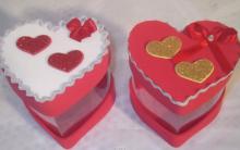 Caixa Em Forma de Coração Feito de Garrafa Pet – Como Fazer