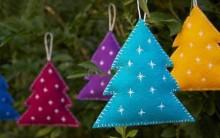 Enfeite de Natal em Feltro – Como Fazer Passo a Passo