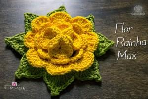 flor-crochê-rainha-max-amarela