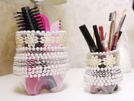 Porta-Pincéis de Material Reciclado – Vídeo de Como Fazer