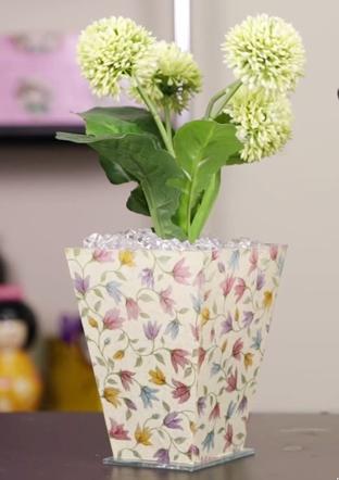 Decoupage em Vidro com Guardanapo – Como Fazer e Vídeo