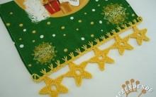 Barrado Estrela Feito de Crochê – Material e vídeo