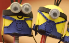 Ponteira de Lápis dos Minions – Como Fazer e Vídeo