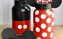 Potes Decorados Mickey e Minnie – Materiais e Passo a Passo