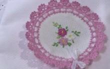 Florzinhas de Crochê Para Aplicações em Fraldas – Como Fazer