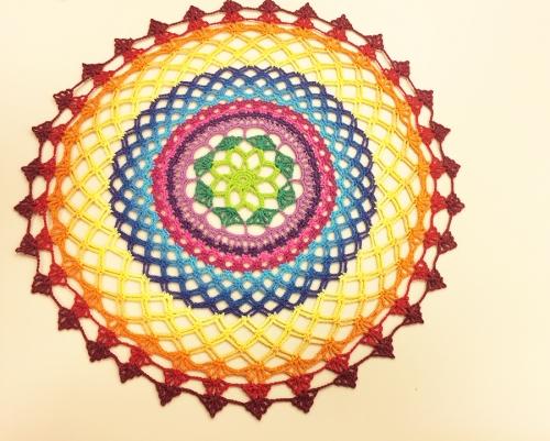 Suplá Colorido de Crochê – Como Fazer Vídeo