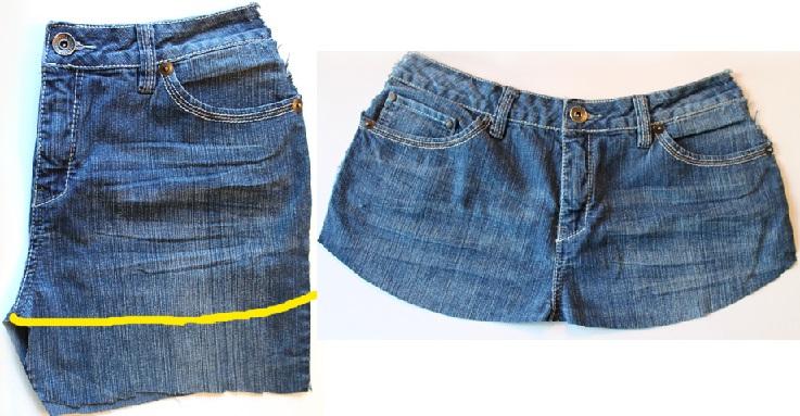 Avental de Jeans  dobra