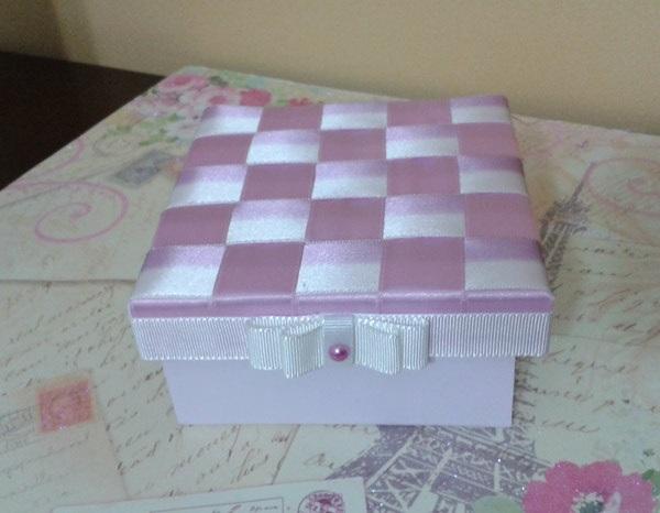 Caixa de MDF Decorada Com Fitas – Material e Como Fazer